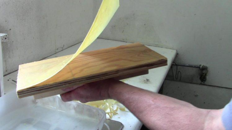 Domáca výroba voskových plátov